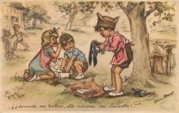 GERMAINE BOURET  COLONIES DE VACANCES 1940 N°9  EDITION CNCV COMITE NATIONAL DES COLONIES DE VACANCES - Bouret, Germaine