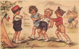GERMAINE BOURET  COLONIES DE VACANCES 1940 N°7  EDITION CNCV COMITE NATIONAL DES COLONIES DE VACANCES - Bouret, Germaine