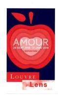 Ticket  Billet D'entrée Du Musée Du Louvre à Lens Exposition Amour 2018 - Tickets D'entrée