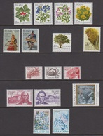 1985 ** Islande (sans Charn., MNH, Postfrish) Complete Yv 581/96 Mi 628/43 FA 665/80 - Komplette Jahrgänge