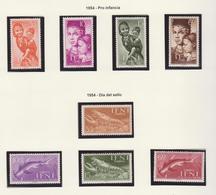 IFNI 1954 DOS SERIES COMPLETAS **MNH - Ifni