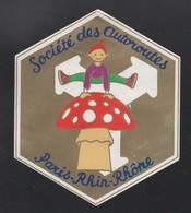 SOCIETE DES AUTOROUTES PARIS RHIN RHONE - AUTOCOLLANT REF: 117 - Stickers