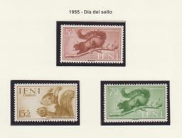 IFNI 1955 AÑO COMPLETO **MNH - Ifni