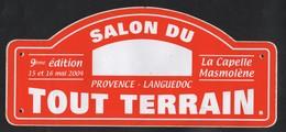 SALON DU TOUT TERRAIN LA CAPELLE MASMOLENE PROVENCE LANGUEDOC 2004 - AUTOCOLLANT REF: 118 - Stickers