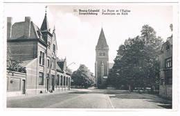 Bourg-Léopold - La Poste Et L'Eglise - Leopoldsburg