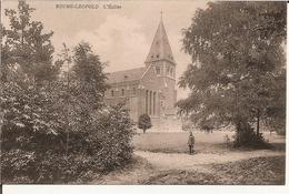 Bourg-Léopold - L'Eglise 1921  (Geanimeerd) - Leopoldsburg