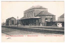 Bourg-Léopold - Intérieur De La Gare 19..   (Geanimeerd) - Leopoldsburg