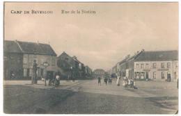 Camp De Beverloo - Rue De La Station   (Geanimeerd) - Leopoldsburg