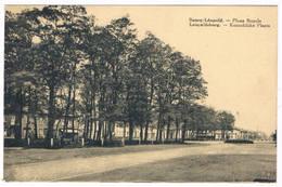 Bourg-Léopold - Koninklijke Plaats 1933  (Geanimeerd) - Leopoldsburg