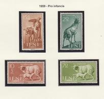 IFNI 1959 DOS SERIES COMPLETAS **MNH - Ifni