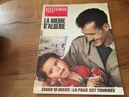 158/ HISTORIA MAGAZINE LA GUERRE D ALGERIE N° 359 La Page Est Tournee - Geschiedenis