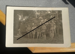 Photo-carte Ancienne D'un équipage De Char Schneider Guerre 14-18 - 1914-18
