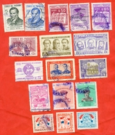 Paraguay 1954-1970. 17 Used Brands Of Paraguay Of Various Issues. - Paraguay