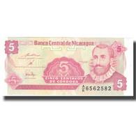 Billet, Nicaragua, 5 Centavos, Undated (1991), KM:168a, SPL+ - Nicaragua