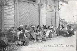 SCÈNES VAUDOISES → Au Temps Des Vendages - Table D'Hôte Anno 1906 - VD Vaud