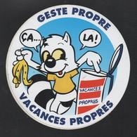 VACANCES PROPRES GESTE PROPRE - AUTOCOLLANT REF: 134 - Stickers