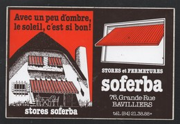 SOFERBA STORE FERMETURE BAVILLIERS - AUTOCOLLANT REF: 135 - Stickers