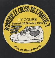 CROSS DE L AMITIE LE BLANC MESNIL 1985 - AUTOCOLLANT REF: 136 - Stickers