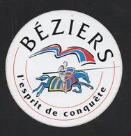BEZIERS L ESPRIT DE CONQUETE * VILLE TOURISME * - AUTOCOLLANT REF: 137 - Stickers