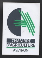 CHAMBRE AGRICULTURE AVEYRON - AUTOCOLLANT REF: 139 - Stickers