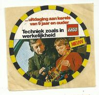 Sticker - LEGO - Techniek Zoals In Werkelijkheid - Van 9 Jaar En Ouder - Stickers