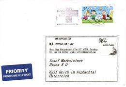 Auslands - Brief Von Briefzentrum 46 Mit 90 Cent Peanuts + Werbestempel Kindernothilfe 2018 - BRD
