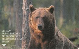 FINLAND - Bear, Turun Puhelin Telecard, CN : 2010, Tirage 45000, Exp.date 03/02, Used - Finland