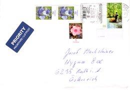 Auslands - Brief Von Briefzentrum 13 Mit 100 Cent Mischfrankatur 2018 - BRD
