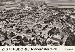 AK - NÖ - Zistersdorf - Bez. Gänserndorf - Fliegeraufnahme  1950 - Gänserndorf
