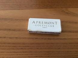 "Boîte D'allumettes SEITA ""APREMONT GOLF CLUB (60)"" - Boites D'allumettes"