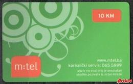 Bosnia Srpska - Mtel (recharge) 10 KM - Bosnia