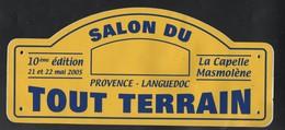 SALON DU TOUT TERRAIN LA CAPELLE MASMOLENE PROVENCE LANGUEDOC 2005 - AUTOCOLLANT REF: 142 - Stickers