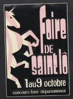 FOIRE DE SAINT LO - AUTOCOLLANT REF: 145 - Stickers