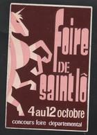 FOIRE DE SAINT LO - AUTOCOLLANT REF: 146 - Stickers