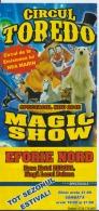 Romania - Toredo Circus - Zirkus - Magic Show - Ticket - Voucher - Comics - Tickets D'entrée