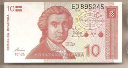Croazia - Banconota Circolata Da 10 Dinari P-18a - 1991 - Croatie
