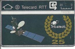 Télécarte De BELGIQUE - INTELSAT ( Satellite - Telecard RTT ) - Sans Puce