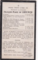 Priester, Abbe, Francois De Brouwer, Brugge, Roulers, Roeselare,Menen, Menin, Ieper, Maredsous,1927 - Religion & Esotericism