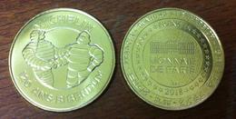 63 PUY DE DÔME CLERMONT-FERRAND MICHELIN BIBENDUM MÉDAILLE MONNAIE DE PARIS 2018 JETON TOKEN MEDAL COIN - Monnaie De Paris