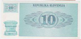 Slovenia P 4 - 10 Tolarjev 1990 - UNC - Slovénie