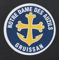 NOTRE DAME DES AUZILS GRUISSAN - AUTOCOLLANT REF: 152 - Stickers