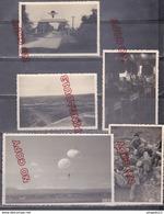 Au Plus Rapide Archive Parachutiste Idron Caylus Pau 1949-1950 Très Bon état Beau Format Ensemble 14 Photos - War, Military