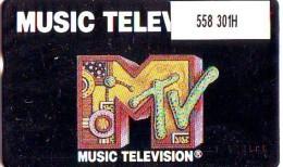 Telefoonkaart  LANDIS&GYR NEDERLAND * RCZ.558  301H  * MTV Music Television * TK * ONGEBRUIKT * MINT - Nederland