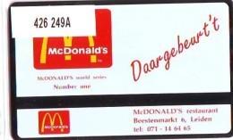 Telefoonkaart  LANDIS&GYR NEDERLAND * RCZ.426  249a * Mc. DONALD'S *  TK * ONGEBRUIKT * MINT - Nederland
