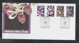 Australia 1986 Orchids FDC K.803 - Primo Giorno D'emissione (FDC)