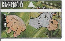 Télécarte De BELGIQUE - VACHE LAITIERE (dessin Humoristique) - Sans Puce