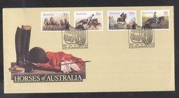 Australia 1986 Horse Racing FDC K.807 - Primo Giorno D'emissione (FDC)