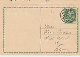 ZZ923 -  Autriche Entier Avec REPONSE Uitilisé En 1909 - Aller EGER Vers WUNSIEDEL Bavière Et Retour WUNSIEDEL Vers EGER - Postwaardestukken