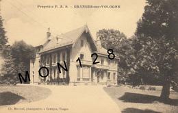 GRANGES SUR VOLOGNE  (88)  PROPRIETE P.A.S - Granges Sur Vologne