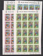 Luxemburg 1988 Caritas 4v   Sheetlets** Mnh (F7219) - Luxemburg